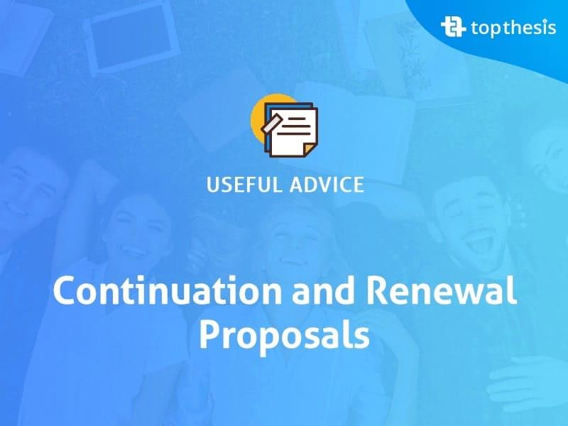 continuation-and-renewal-proposals
